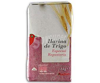 Auchan Harina de trigo especial repostería 1 kilogramo