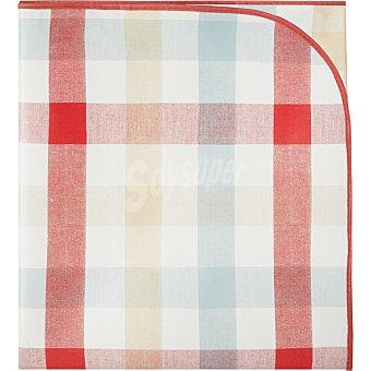 Unit Check mantel de plastico decorado con estampado a cuadros 140 x 180 cm