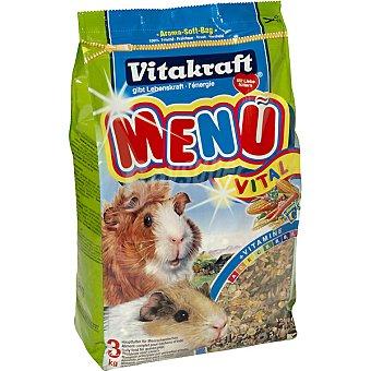 VITAKRAFT MENU VITAL Alimento completo para cobayas bolsa 3 kg Bolsa 3 kg