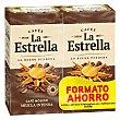 Café molido mezcla express Pack 2 x 250 g La Estrella