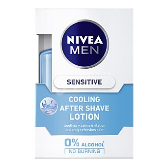 Nivea Loción after shave Sensitive Cool 0% alcohol 100 ml
