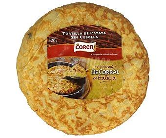 Coren Tortilla de patatas sin cebolla 500 g