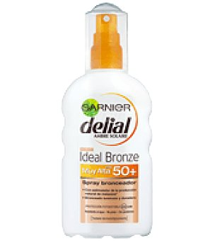 Delial Garnier Spray solar FP 50 Ideal Bronze 200 ml