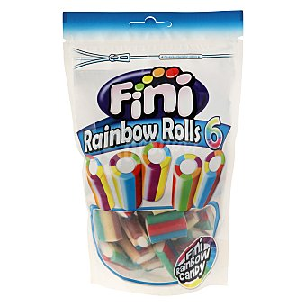 Fini Caramelos de goma Rainbow Rolls 180 g