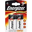 Ultra+ pila alcalina (lr14 - mn1400) + C Blister 2 unidades Energizer
