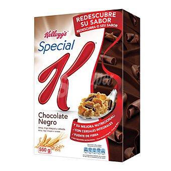Special K Kellogg's Special K Chocolate Negro: Copos tostados de arroz, trigo y cebada con virutas de chocolate negro 550 g