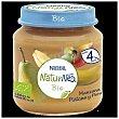 Tarrito manzana, plátano y pera bio Tarro 120 g Naturnes Nestlé