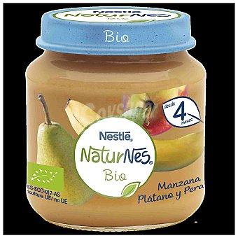 Naturnes Nestlé Tarrito manzana, plátano y pera bio Tarro 120 g