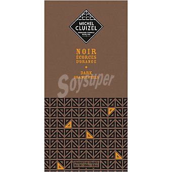 MICHEL CLUIZEL Ecorces d'Orange chocolate negro 60% cacao tableta 100 g tableta 100 g