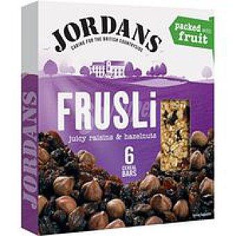 Jordans Barritas de cereal-frutos secos Caja 180 g