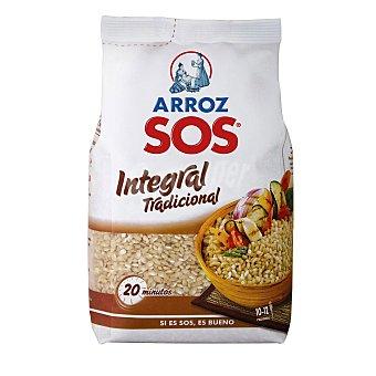 Sos Arroz integral tradicional  Paquete 1 kg