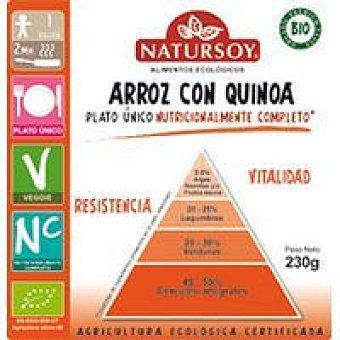 Natursoy Arroz con quinoa Paquete 230 g