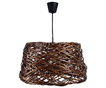 Dupi Lámpara colgante occitane diseño exótico, color marrón, diámetro de 51 cm, DUPI.