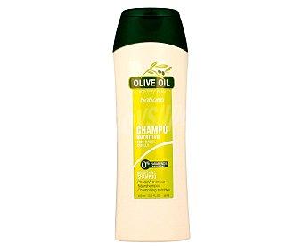 Babaria Champú aceite de oliva nutritivo para todo tipo de cabello Frasco 400 ml