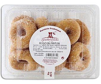 CASTILLO DE MORILES Roscos fritos con azúcar 12 unidades 300 gramos