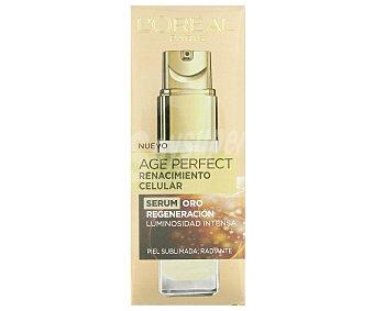 Age Perfect L'Oréal Paris Renacimiento Celular - Serúm Oro regeneración luminosidad intensa dosificador 30 ml