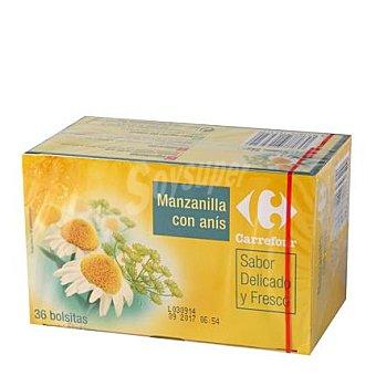 Carrefour Manzanilla con anís 36 ud