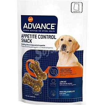 ADVANCE Galletas para perro contiene fibras saciantes para ayudar a controlar el apetito Envase 150 g