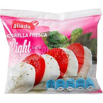Aliada Mozzarella fresca light bolsa 125 g Bolsa 125 g