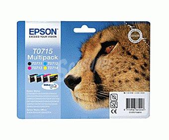 Epson Cartucho multipack (T071140 + T071240 + T071340 + T071440) 4 Colores