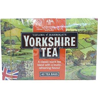 Yorkshire tea Mezcla de té negro Estuche 40 bolsitas