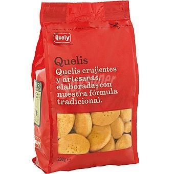 Quely Galletas crujientes y artesanas Quelis Paquete 200 g