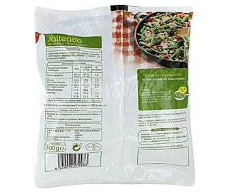 Auchan Salteado de verduras 400 gramos