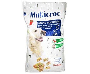 Auchan Comida Seca para Perro: Multicroquetas Saco de 10 Kilogramos
