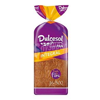 Dulcesol Pan de molde integral 500 g