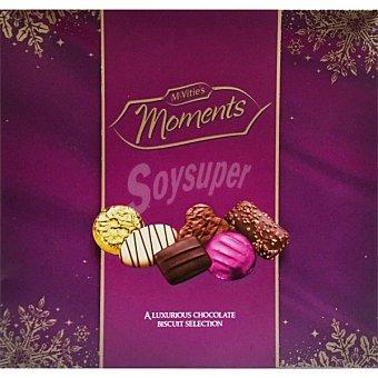 MCVITIE'S Moments galletas surtidas de chocolate  envase 400 g