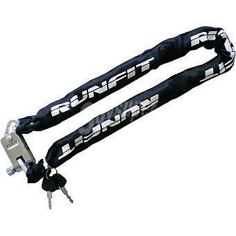 RUNFIT 4137 Antirrobo de cadena para bicicleta 1 Unidad