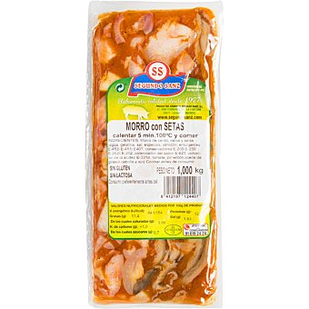 Segundo sanz Morro de cerdo con setas Estuche 1 kg