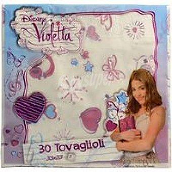 AVANCE Servilleta Violeta 3 capas 33x33 Paquete 30 unid