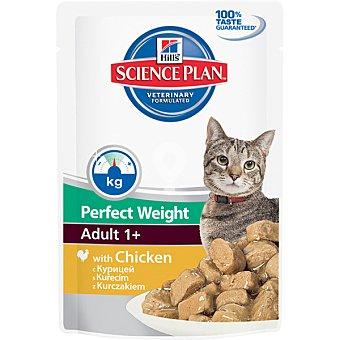 Alimento húmedo con pollo para gatos adultos a dieta