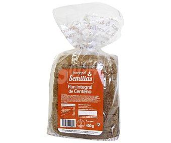 Pan Especial Pan Integral Semillas con Centeno 400 Gramos