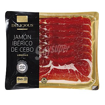 DIA Jamón ibérico lonchas sobre 100 g