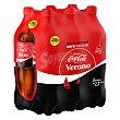 Refresco de cola zero pack 6 botellas x 2,20 l Coca-Cola Zero