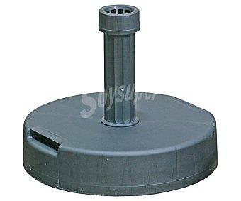 PROFILINE Base de parasol de hormigón para sombrillas de 20 a 54 milímetros, con recubrimiento plástico y acoplamiento roscado. Peso: 20 kilos 1 unidad