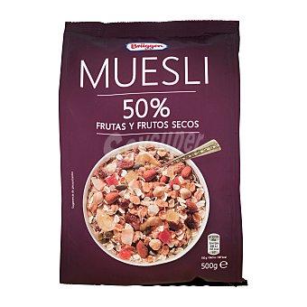 Brüggen Cereal muesli 50% frutas y frutos secos Bolsa de 500 g