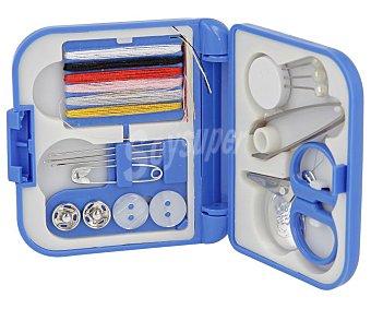 MERCERÍA Set para coser, fabricado en plástico, 15 piezas, mercería.