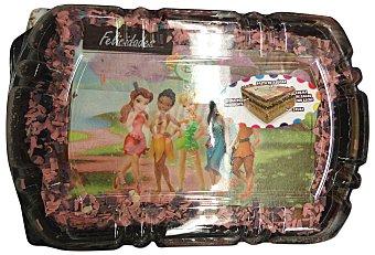 Mercadona TARTA INFANTIL NIÑA 8 RACIONES (CUADRADA) PASTELERIA CONGELADA HORNO 1 u 750 g