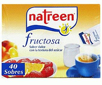 Natreen Edulcorante Fructosa 40 Sobres 80 Gramos