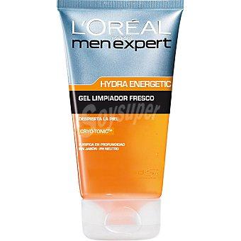 L'Oréal Men Expert gel limpiador fresco anti-tirantez sin hydra energetic