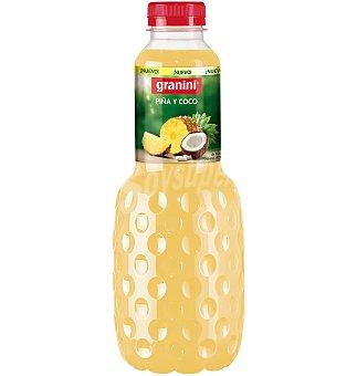 Granini Néctar de piña y coco  Botella de 1 litro