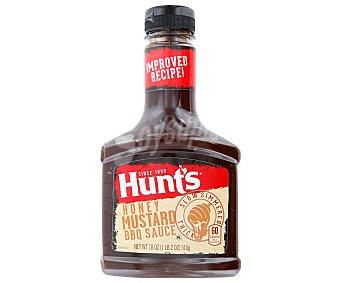 Hunt's Salsa barbacoa miel y mostaza 510 g
