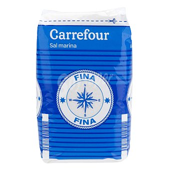 Carrefour Sal marina fina 1 kg