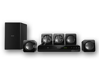 PHILIPS HTD3510 Home Cinema DVD 5.1 con conexión hdmi, USB y potencia de 300W
