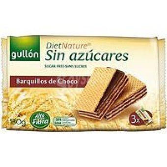 Gullón Galleta Wafer de chocolate Paquete 180 g
