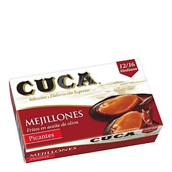 Cuca Mejillón en salsa picante 12/16 piezas Lata 115 g