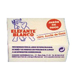 Jabon ropa elefant coco blanco 225 GRS